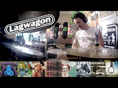 Lagwagon: A 5 Minute Drum Chronology - Kye Smith [HD]