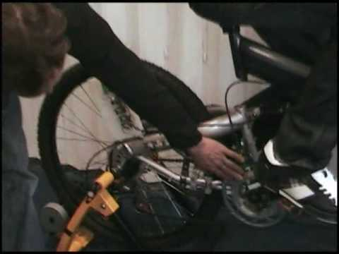 Demonstration of T24 2.4 Ghz Radio Telemetry System in Bicycle Application