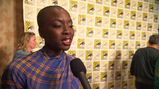 Black Panther: Danai Gurira Comic-Con 2017 Movie Interview