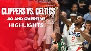 Los Angeles Clippers and Boston Celtics Had Wild OT Ending | Highlights