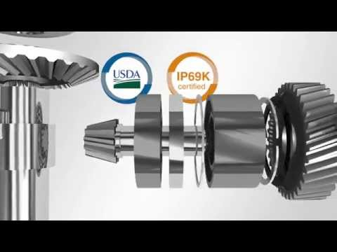 STOBER's KSS is the premier stainless steel gearbox. It is perfect for the food and beverage market. It can withstand the harshest washdowns without rusting or leaking oil. Watch our video to see how STOBER can meet your needs!