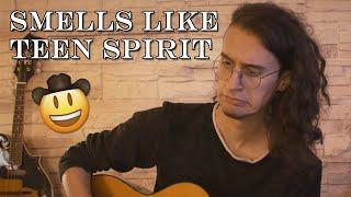 NIRVANA - Smells Like Teen Spirit (WAY TOO HAPPY COVER)