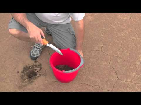 How to Take an Infield Soil Sample