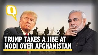 """""""Who is using it?"""": Trump's jibe at PM Modi on Afghan libr.."""
