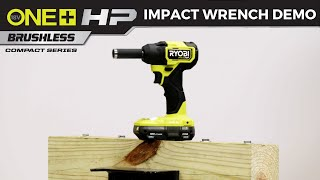 "Video: 18V ONE+ HP Compact Brushless 4-Mode 3/8"" Impact Wrench"