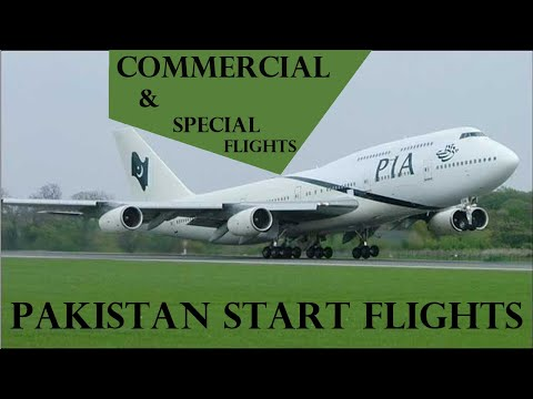 Pakistan Start Flights for Overseas Pakistani (Commercial & Special flight)