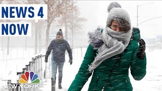 Up to 4 Inches of Snow For NYC As Messy Winter Storm Moves In | News 4 Now