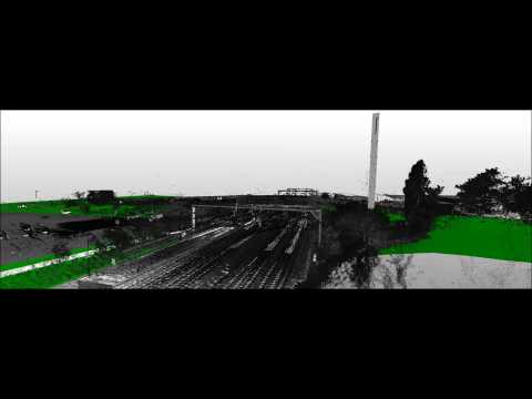 3D Laser Scanning of Rail Bridge without Track Possession
