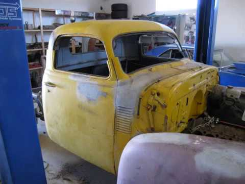 1950 Chevy Pickup with S10 Chassis Conversion | VideoMoviles com