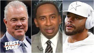Stephen A. isn't surprised by Stephen Jones' comments on Dak Prescott's contract | First Take