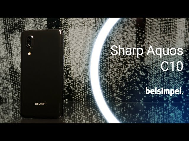 Belsimpel.nl-productvideo voor de Sharp Aquos C10 Black