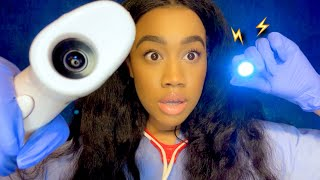 [ASMR] Fast & Chaotic Doctor Check-up(Fast & Aggressive)(Fast Role-play)⚡️🩺⚡️
