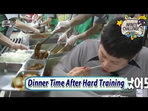 [Infinite Challenge Cover 'Real men'] Dinner Time After Tough Training 20170708