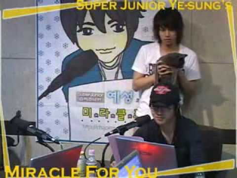 Yesung attacked by Heebum on Miracle4u