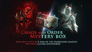 What's in the Chaos and Order Mystery Box?