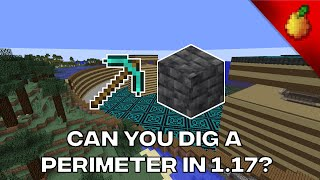 Is It Possible To Make A Perimeter Without TNT in 1.17?