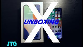 iPhone X Unboxing, Setup, And First Look!