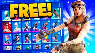I Bought a Fortnite Account for FREE and This Happened.. (OG Skins)
