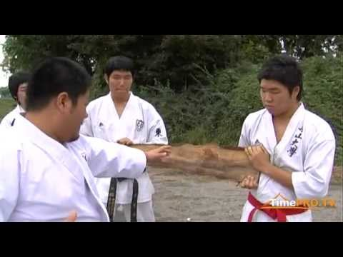 Chungju World Martial Arts Festival - Kyokushin karate. The team from Korea