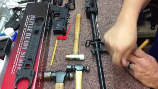 X-Ring Tech Tips / Easiest way to remove an AR-15 front sight