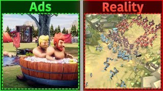 Mobile Game Ads Vs. Reality 3