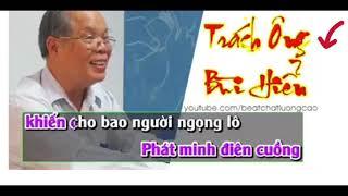 Trách Ông Bùi Hiền karaoke - Chế Trách Ai Vô Tình - Ca nhạc Tí Nhể