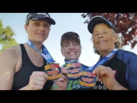 The Triumphant Trio completes 'Race the River' Triathlon