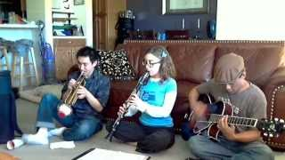 "Star Wars ""Cantina Band"" Song - The JC Jazz Crew"
