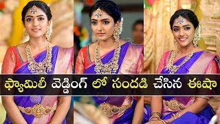 Actress Eesha Rebba Looks Gorgeous In Traditional Outfits..