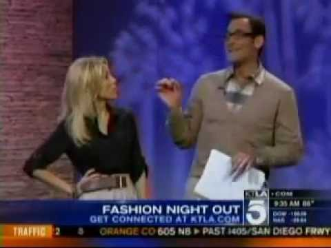 KTLA talks Fashion's Night Out 2011 with Vince