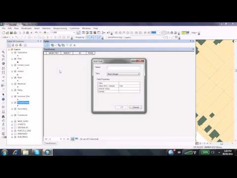 Creating a Field in ArcMap
