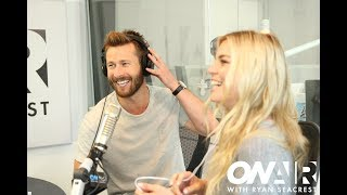 Ryan Shows Off Best Wingman Moves When Glen Powell Visits  | On Air with Ryan Seacrest