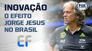 EFEITO JORGE JESUS? Sucesso do treinador a frente do Flamengo força inovação de rivais brasileiros