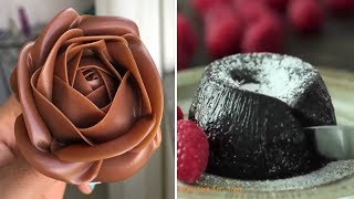 How To Make An Easy And Delicious Chocolate Cake - The Most Satisfying Chocolate Cakes Compilation!