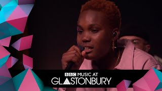 Arlo Parks performs Cola in acoustic session at Glastonbury 2019
