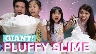 GIANT FLUFFY SLIME + WORLDWIDE SLIME GIVEAWAY!
