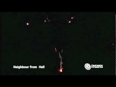 Fantastic Fireworks Neighbour From Hell - 1492 Shot Barrage Firework