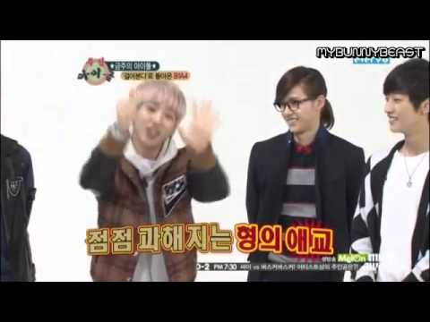 (Eng.sub)121212 B1A4@Weekly Idol part 1/2
