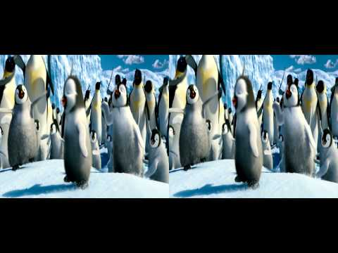 Happy Feet Two - Teaser Trailer #2 - 3D version