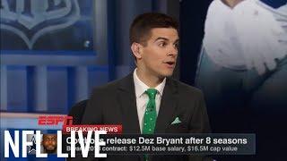 Two possible landing spots for Dez Bryant | NFL Live | ESPN