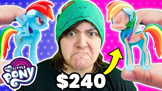 WHAT'S INSIDE? 240$ My Little Pony Halloween Rainbow Dash, Pinkie Pie, Twilight