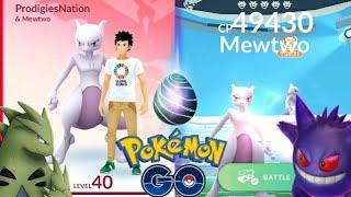 MEWTWO RAID!! EASIEST WAY TO DEFEAT & CAPTURE MEWTWO - POKEMON GO
