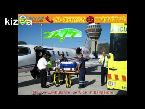 Receive Sky Ambulance with Paramedical Team in Bhubaneswar