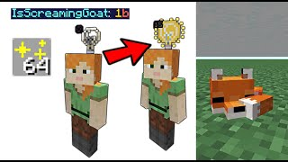 14 Tricks with Goats and Light Block! | 1.17 Minecraft