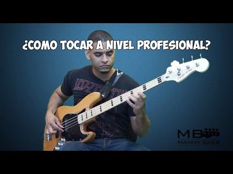 Como ser un Bajista Profesional