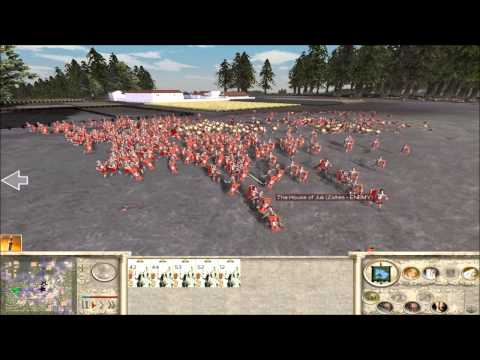 Rome Total War Online Battle #2076: Five Player FFA (live-commentary)