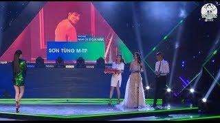 Sơn Tùng M-TP cùng Bích Phương đoạt giải Nam và Nữ ca sĩ của năm tại Làn Sóng Xanh 2018