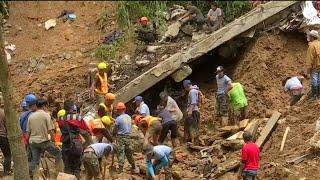 Dozens dead following Super Typhoon Mangkhut