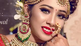 Indian Bridal Makeover | Makeup Artist Siddhart Jaiswal | Photographer LOukik Das |