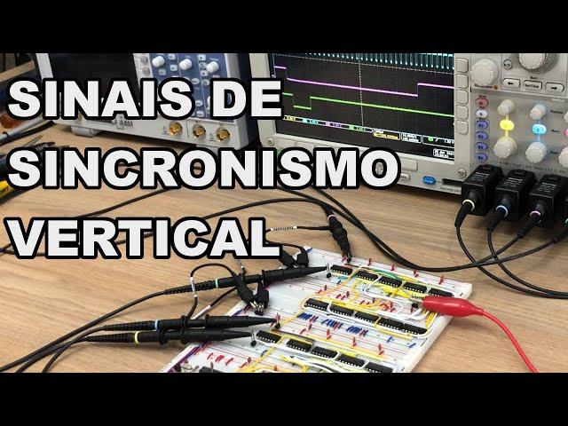 PLACA DE VÍDEO: SINCRONISMO VERTICAL COMPLETO | Conheça Eletrônica! #219